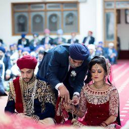 Leicester Sikh Wedding Photographer