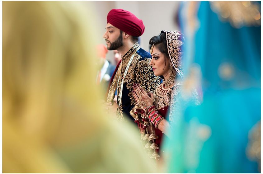 Sikh Wedding Ceremony, Leicester